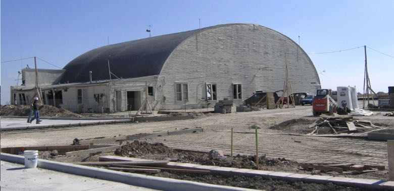 The Browning Hangar in 1999