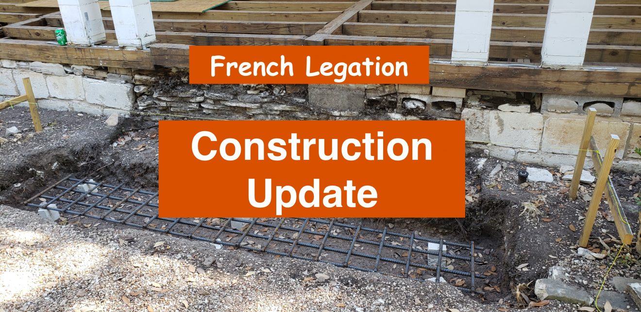 French Legation Construction Update