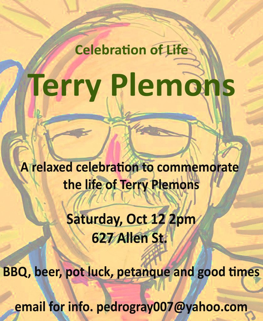 Terry Plemons Celebration