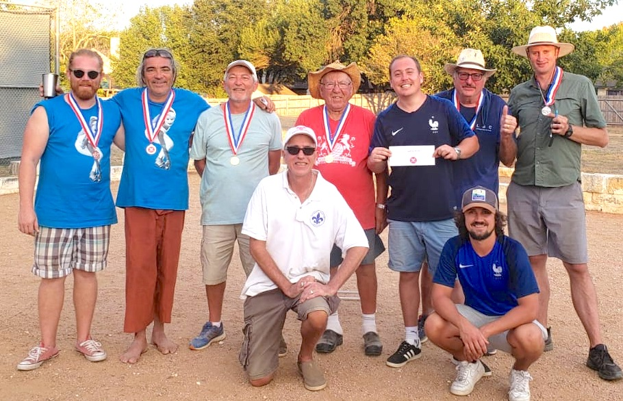 Results of the Nelson Ranch Doubles Tournament