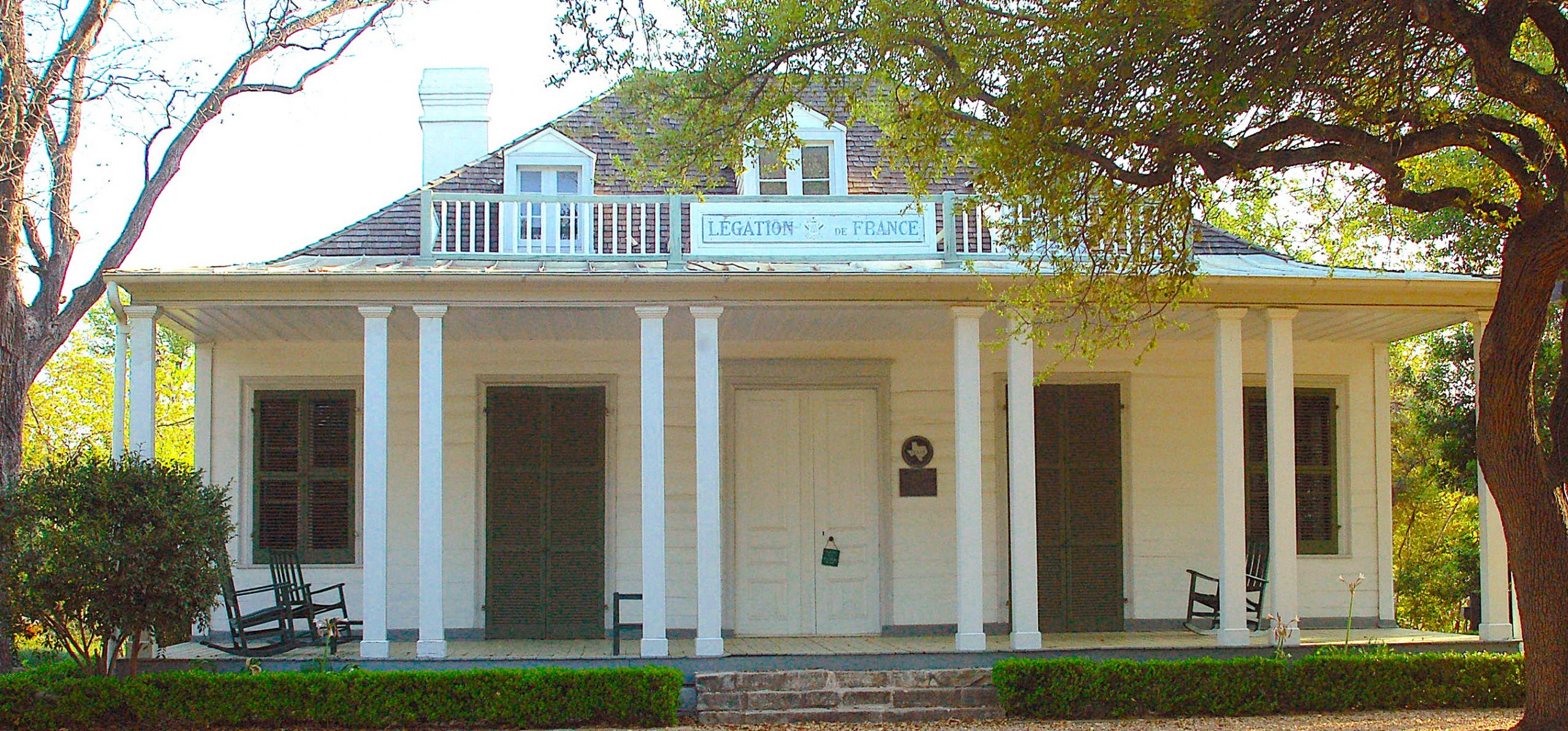 Front of French Legation