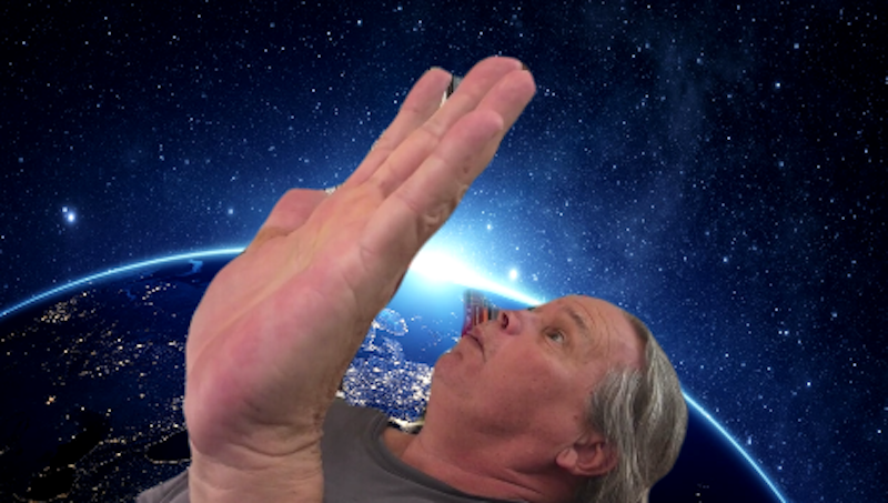 Jeff in Space